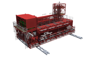 Modular drilling package